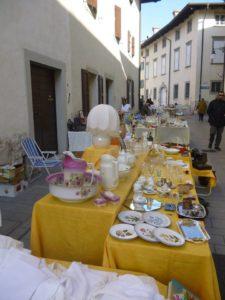Mercatino dell'antiquariato a Venzone